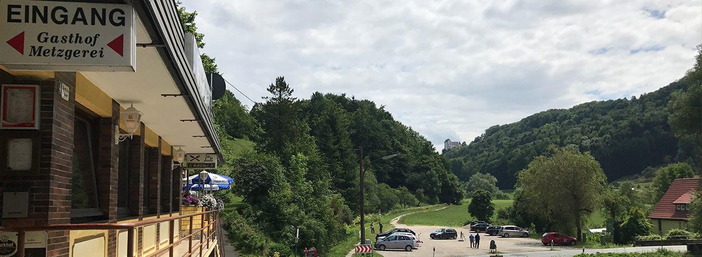 Blick Burg Egloffstein